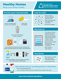 Keep your family healthy with good cleaning habits. Follow the tips on this infographic.