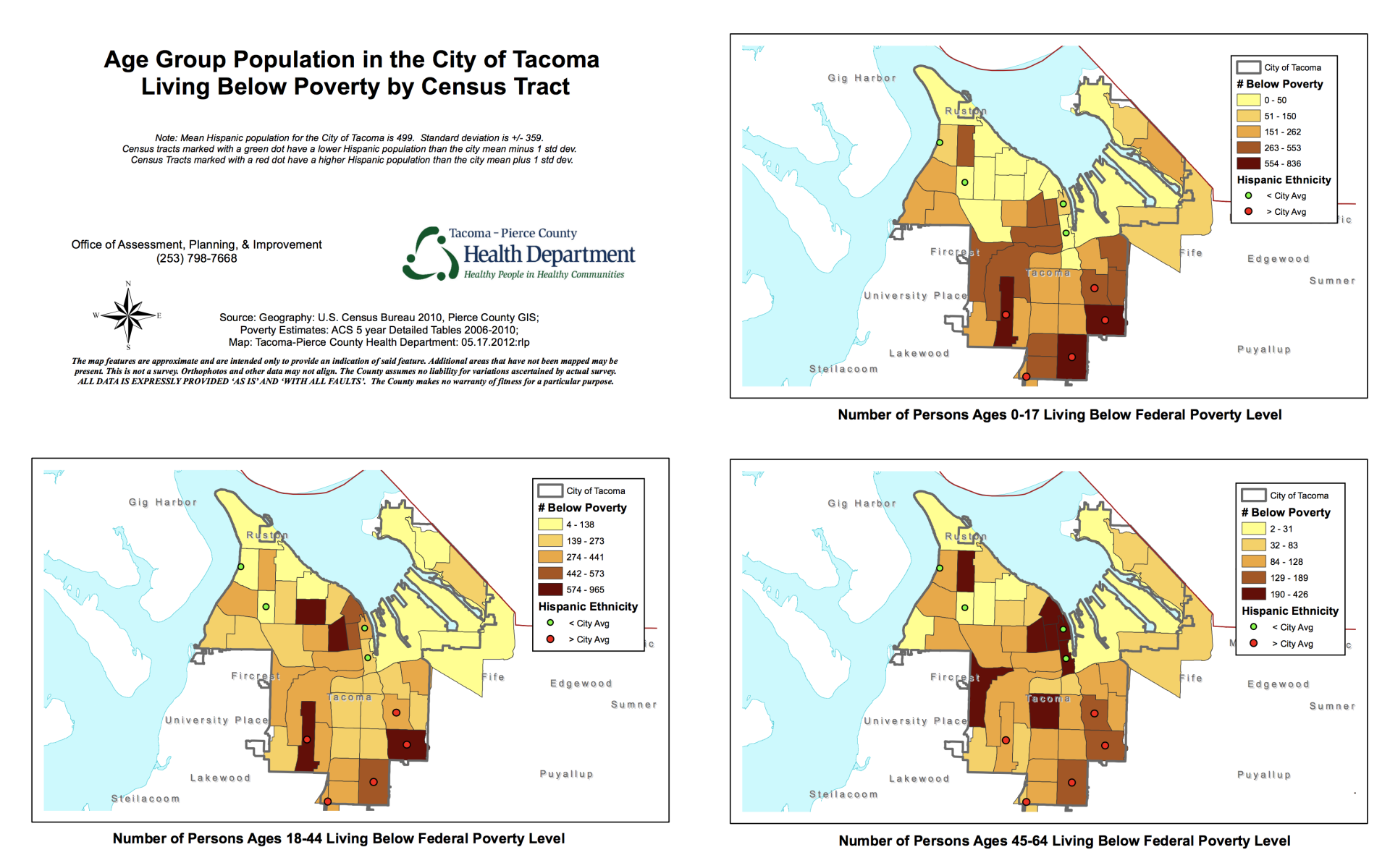 Is Your Neighborhood Healthy Tacoma Pierce County Health Department