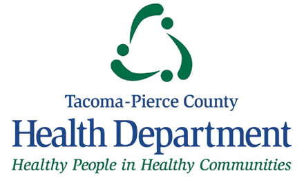 Tacoma-Pierce County Health Department Logo, Healthy People in Healthy Communities