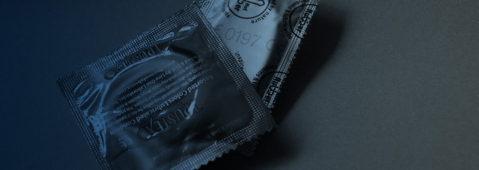 Condoms rotator