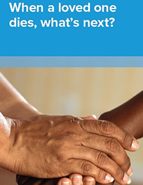 When a loved one dies brochure