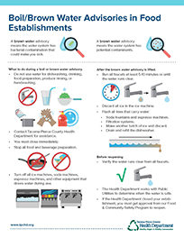BrownBoil water advisories infographic thumbnail