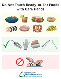 Hand contact illustration