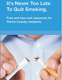 Never too late to quit smoking brochure