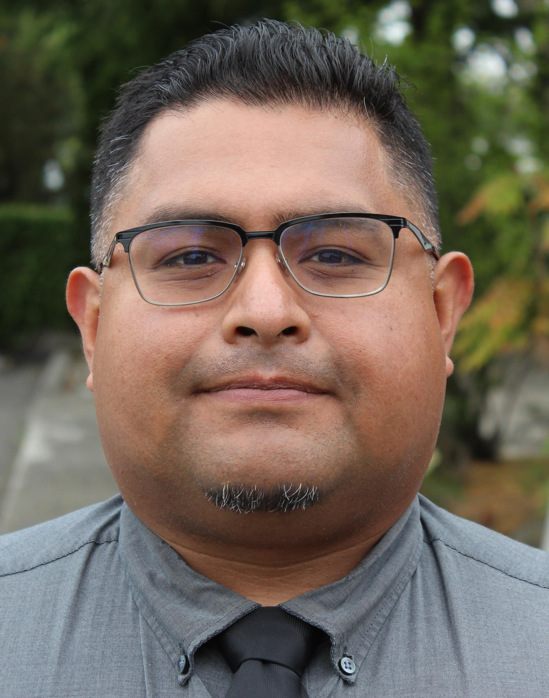 Health Promotion Coordinator Thomas Madrigal