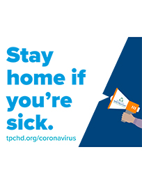 Stay home if you're sick.