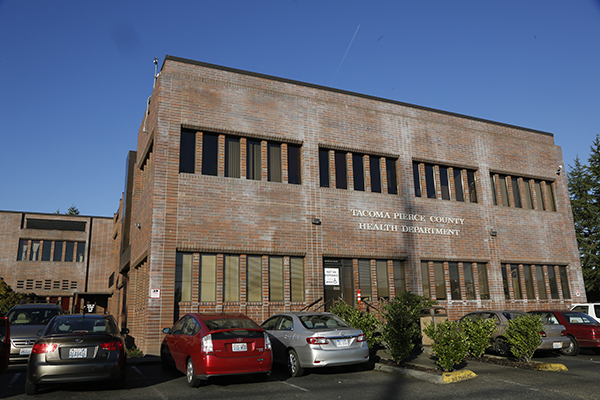 Tacoma-Pierce County Health Department building
