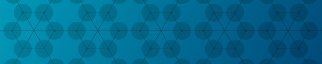 Decorative pattern - Network - Blue