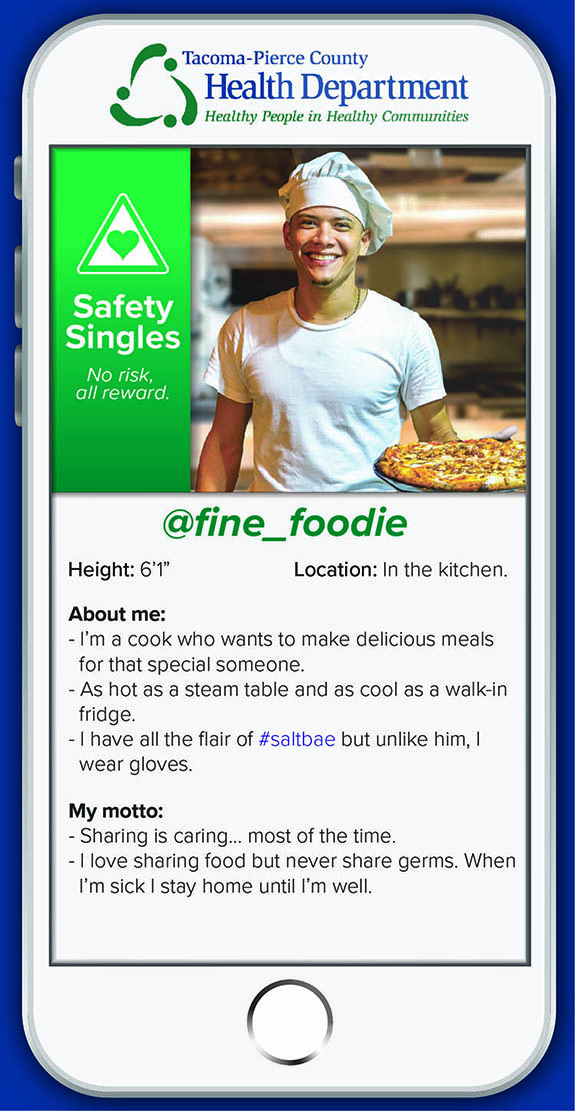 "@fine_foodie Height: 6'1"" Location: In the kitchen. About me: I'm a cook who wants to make delicious meals for that special someone.  As hot as a steam table and as cool as a walk-in fridge.  I have all the flair of #saltbae but unlike him, I wear gloves."