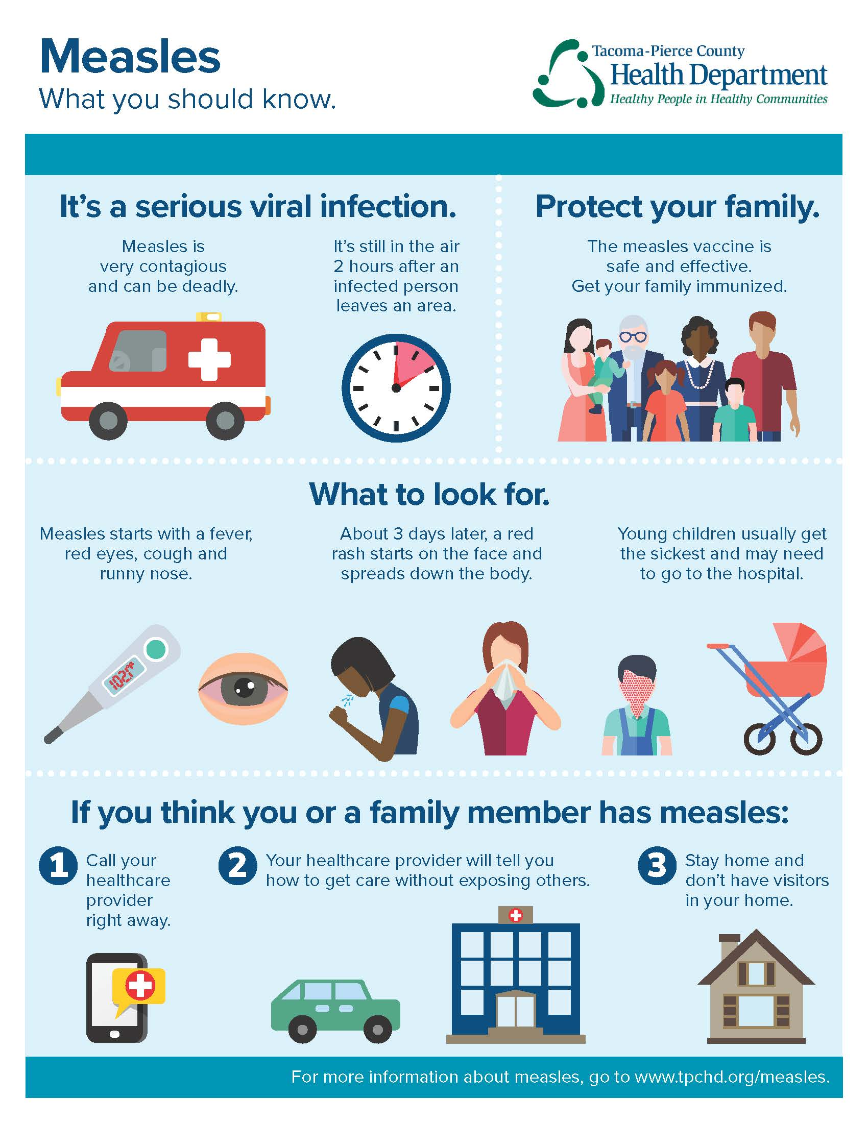 What you need to know about measles.